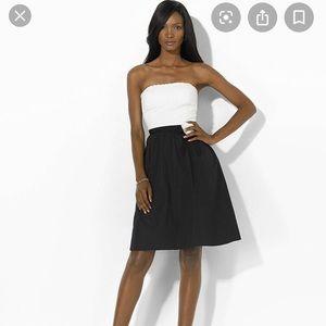 Ralph Lauren L'Opera strapless dress